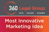 360 Legal Group Most Innovative Marketing Idea Winner