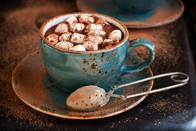 Luxury Hot Chocolate Festive Drink